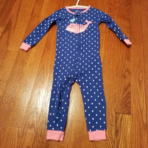 Carter's Other - Foot-less baby pajamas zip up one piece